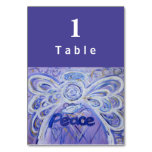 Tarjetas de encargo de la tabla del ángel