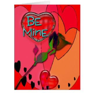 Tarjetas de encargo del el día de San Valentín