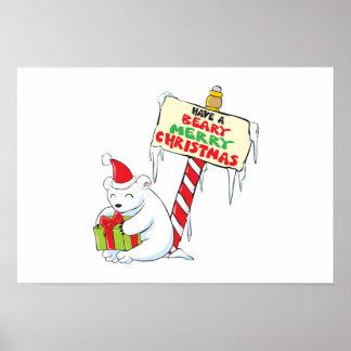 Tarjetas de encargo Norte de Polo del navidad Impresiones