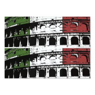 """Tarjetas de encargo romanas contemporáneas del invitación 4.5"""" x 6.25"""""""