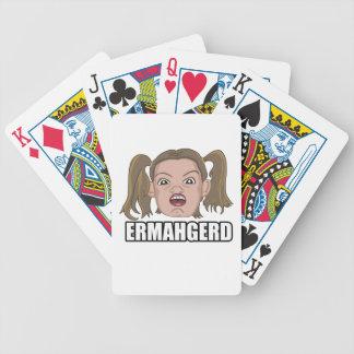 Tarjetas de Ermahgerd Baraja Cartas De Poker