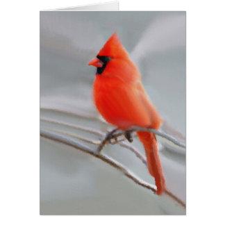 Tarjetas de felicitación cardinales masculinas