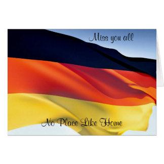 tarjetas de felicitación de Alemania