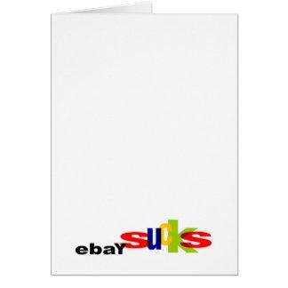 Tarjetas de felicitación de EbaySucks
