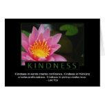 Tarjetas de felicitación de la amabilidad