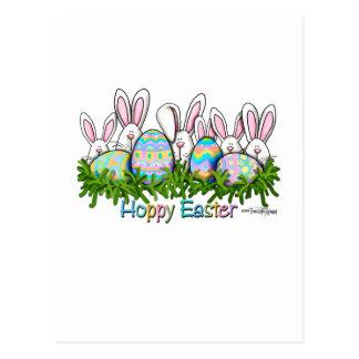 Tarjetas de felicitación de la caza del huevo de postales