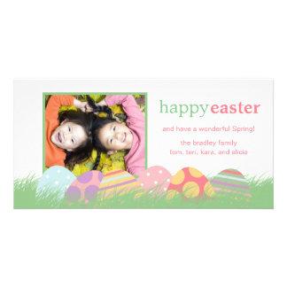 Tarjetas de felicitación de la foto de Pascua de l Tarjetas Fotograficas
