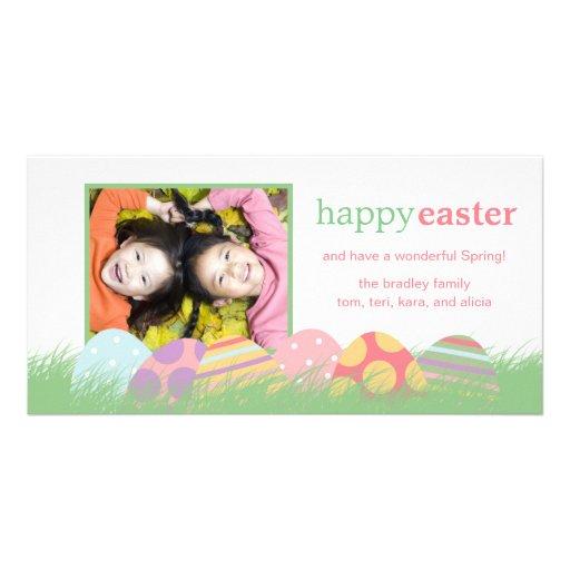 Tarjetas de felicitación de la foto de Pascua de Tarjeta Fotográfica
