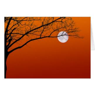 Tarjetas de felicitación de la Luna Llena de Hallo