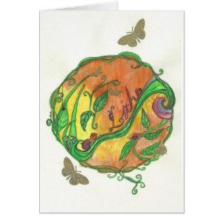 Tarjetas de felicitación de la mandala del solstic