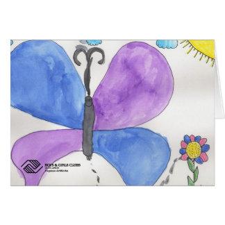Tarjetas de felicitación de la mariposa