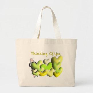 """Tarjetas de felicitación de la monja """"que piensan  bolsa de mano"""