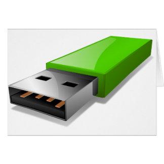 Tarjetas de felicitación de memoria USB
