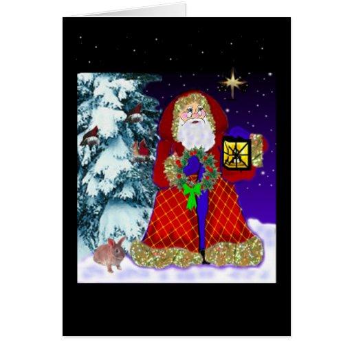 Tarjetas de felicitación de Papá Noel