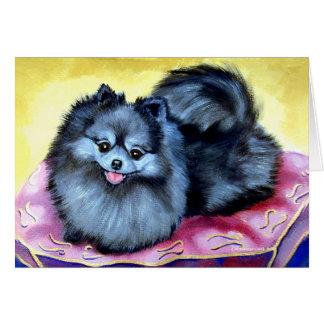 Tarjetas de felicitación de Pomeranian