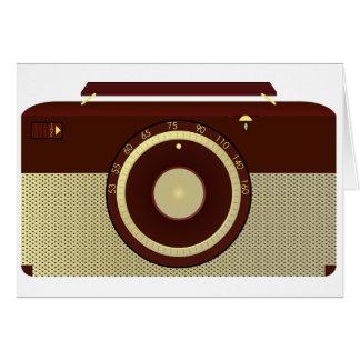 Tarjetas de felicitación de radio antiguas