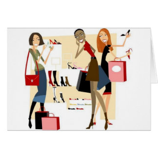 Tarjetas de felicitación de Shopaholic