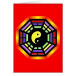 Tarjetas de felicitación de Yin Yang