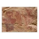 Tarjetas de felicitación del arte de la roca del b