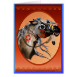 Tarjetas de felicitación del caballo de guerra