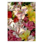 Tarjetas de felicitación del diseño floral del Ama