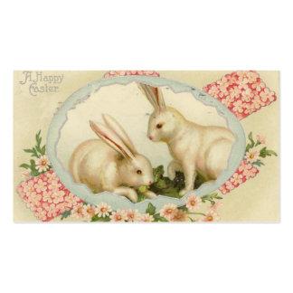 Tarjetas de felicitación del Doodle de Pascua del Tarjetas De Visita