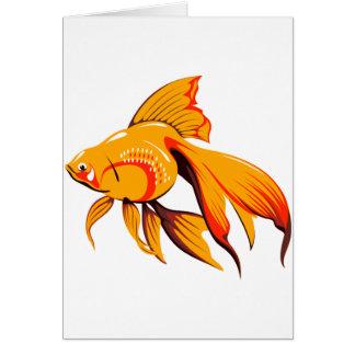 Tarjetas de felicitación del Goldfish