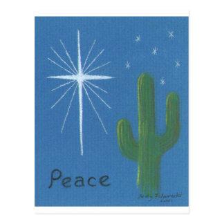 Tarjetas de felicitación del navidad del desierto postal