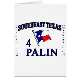 Tarjetas de felicitación del SE Texas4Palin