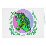 Tarjetas de felicitación del unicornio