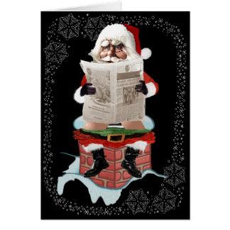 Tarjetas de felicitación divertidas del navidad de