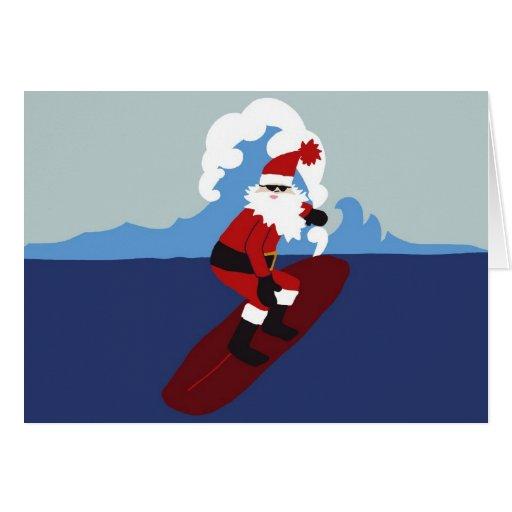 Tarjetas de felicitación Santa-Horizontales que pr
