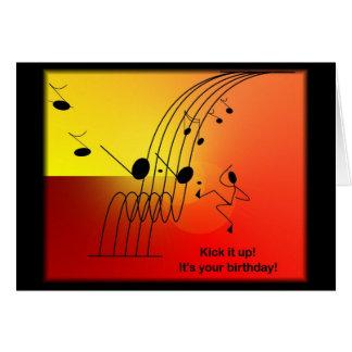 Tarjetas de felicitación temáticas del cumpleaños