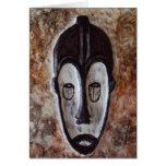 Tarjetas de felicitación tribales africanas de Art