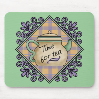 Tarjetas de fichar del té, franqueo, camisetas, re mouse pads