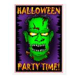 Tarjetas de Frankenstein del zombi Tarjetas Postales