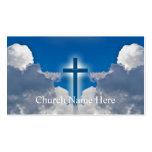 Tarjetas de información pastorales tarjetas de visita