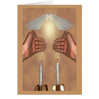 Tarjetas de Ki Eshmera Shabbat