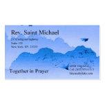 Tarjetas de la administración de la iglesia tarjeta de visita