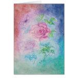 Tarjetas de la Atlántida del arte de los rosas