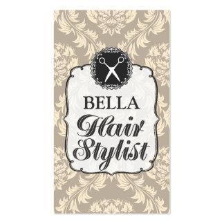 Tarjetas de la cita del estilista del papel tarjetas de visita