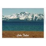 Tarjetas de la colección del navidad del lago Taho