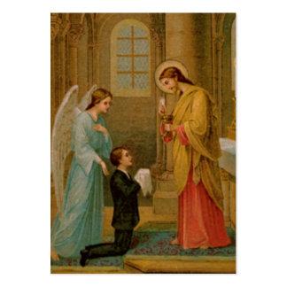 Tarjetas de la conmemoración: Feliz es el alma Tarjeta De Visita