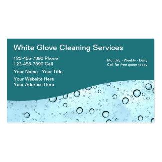 Tarjetas de la empresa de servicios de la limpieza tarjetas de negocios