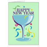Tarjetas de la Feliz Año Nuevo