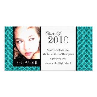 Tarjetas de la foto de la invitación de la tarjeta con foto personalizada