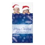 Tarjetas de la foto de las Felices Navidad Tarjeta Fotográfica