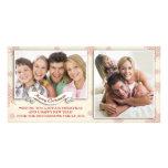 tarjetas de la foto de las Felices Navidad Tarjetas Fotograficas