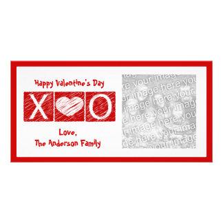 Tarjetas de la foto del el día de San Valentín de  Tarjetas Con Fotos Personalizadas