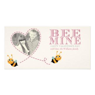 Tarjetas de la foto del el día de San Valentín de Tarjeta Fotografica Personalizada